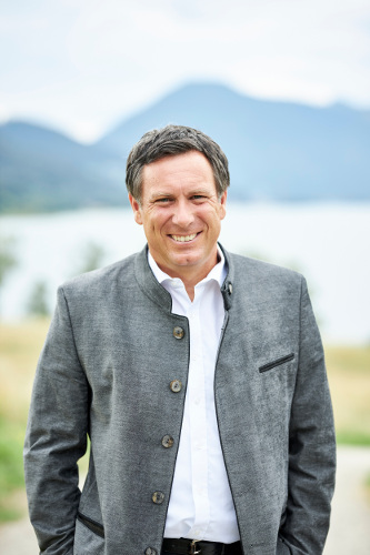 Klaus Bogenberger am Tegernsee