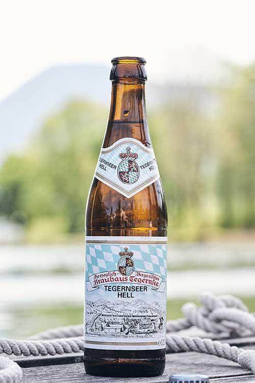 Kult-Bier Tegernseer Hell Seeseiten