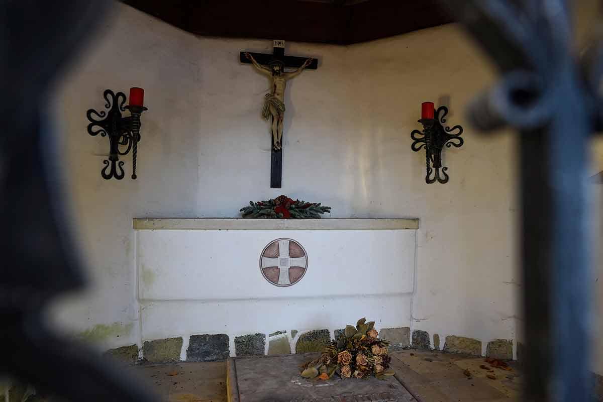 Kapelle Louisenthal Gmund Innenansicht