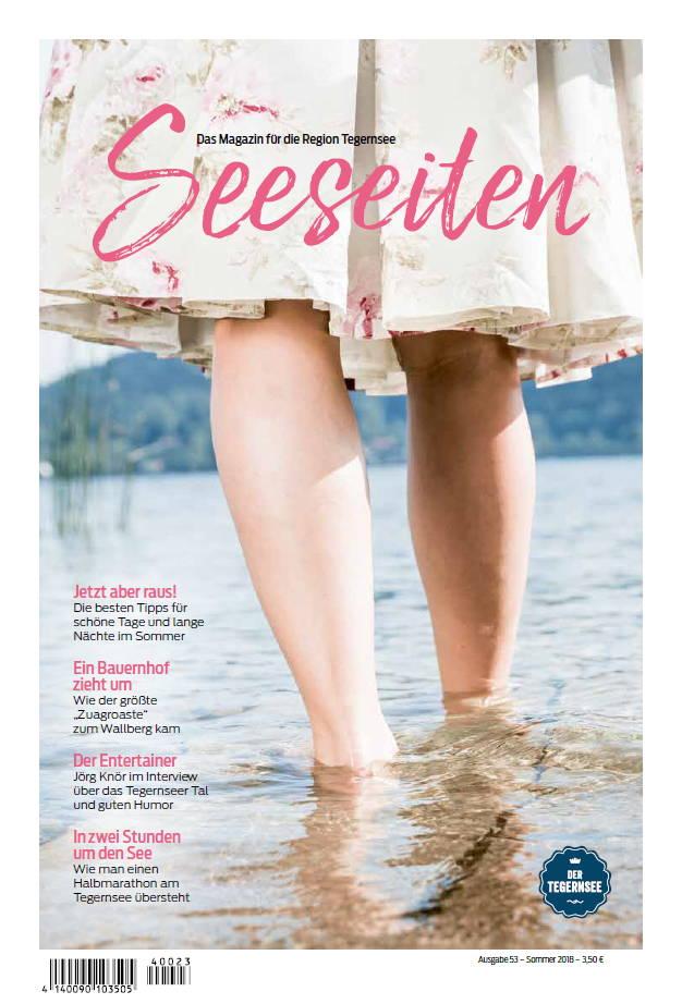 Seeseiten Sommer 2018 Titelbild
