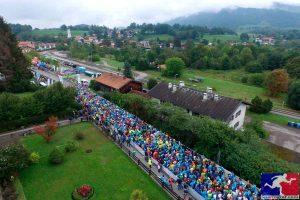 Halbmarathon Tegernsee Startaufstellung