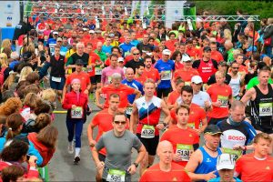 Halbmarathon Tegernsee Start
