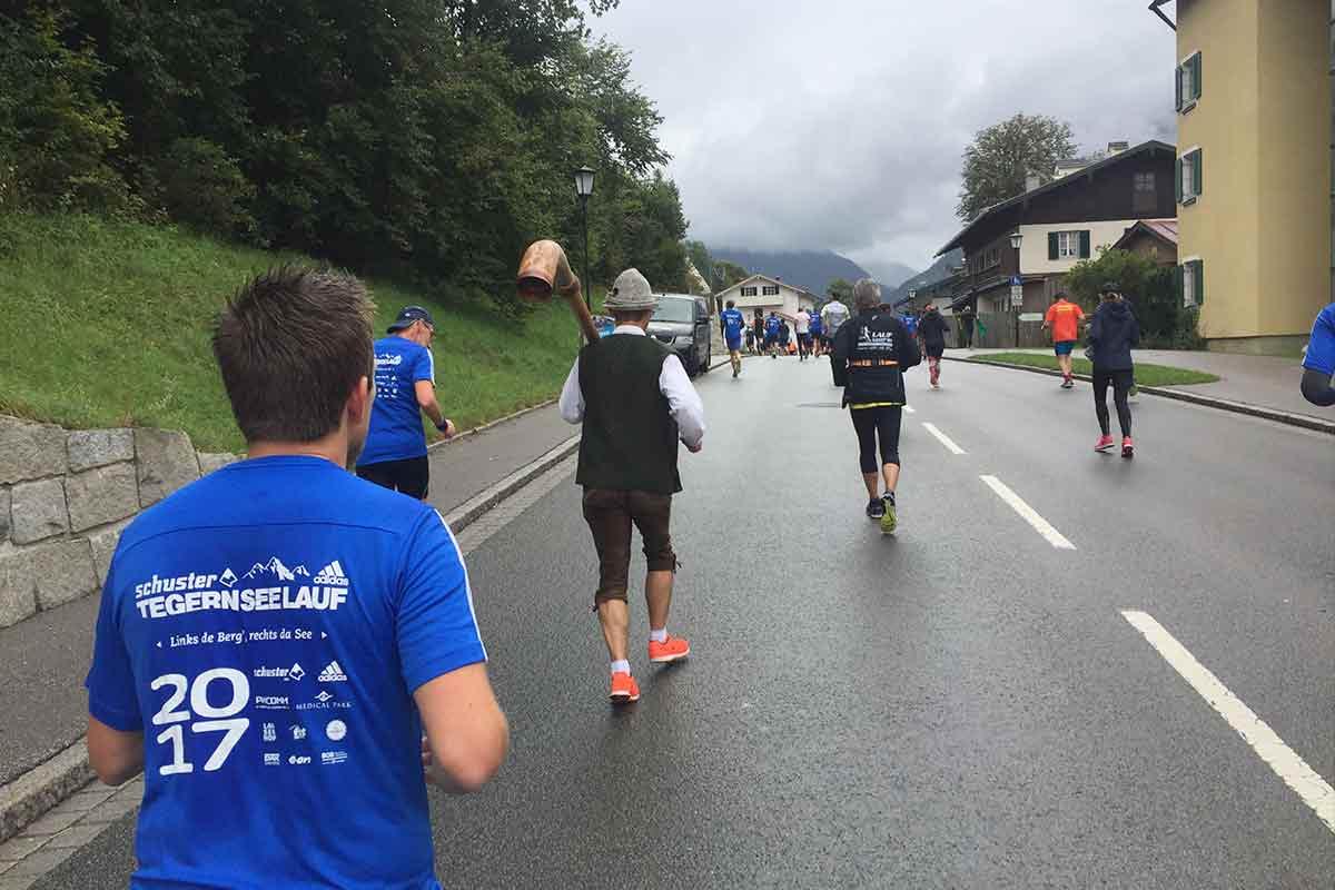Halbmarathon Tegernsee Alphorn-Läufer