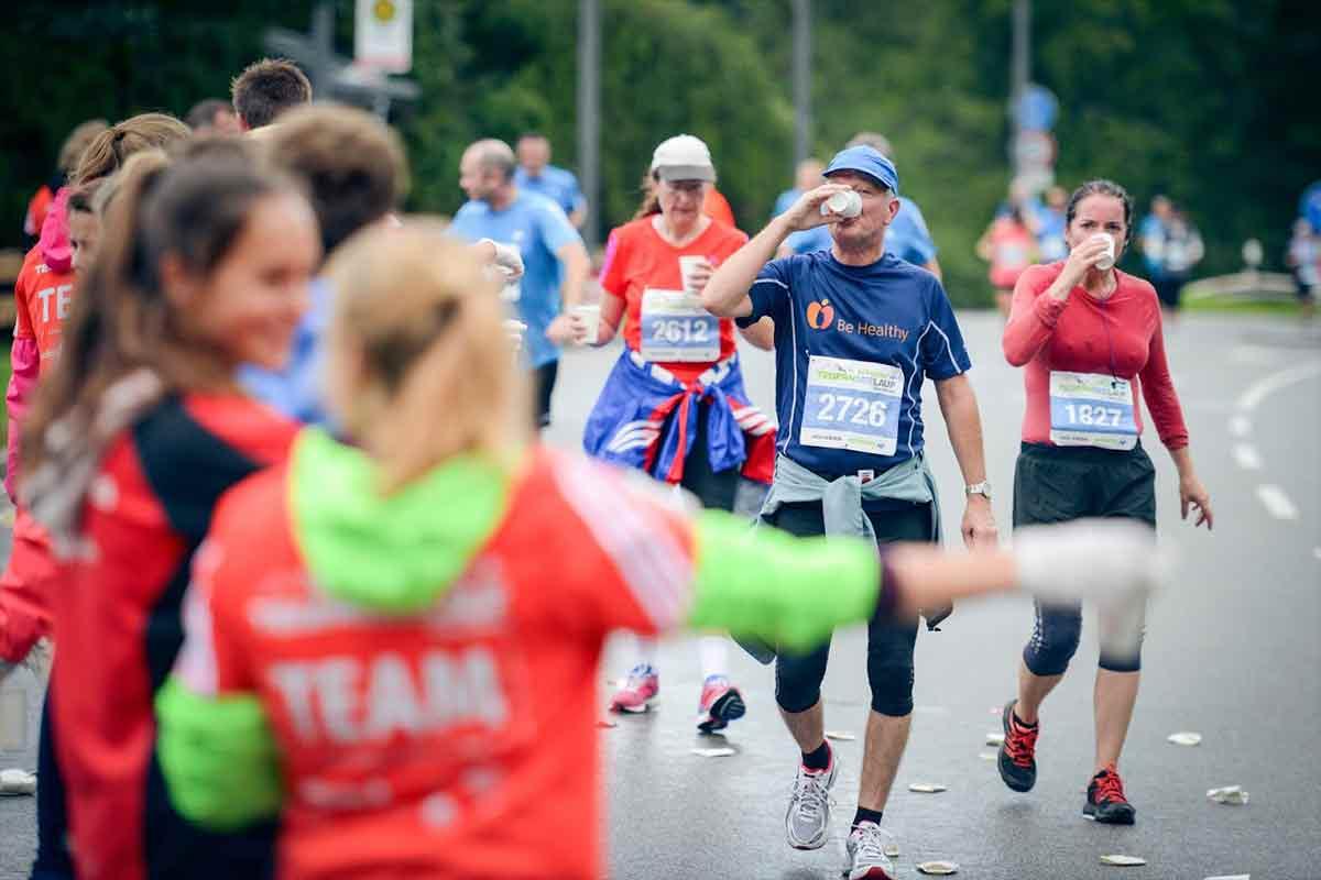 Halbmarathon Tegernsee Verpflegung