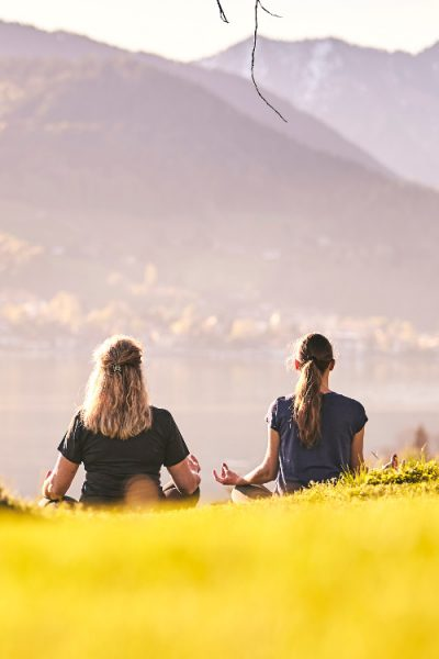 Meditatives Wandern am Tegernsee