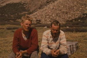 Anderl Mannhardt und Toni Kinshofer Nanga Parbat (c) Alpenverein Archiv