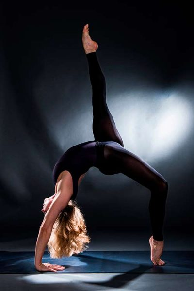 Katharina Hultsch beim Sport
