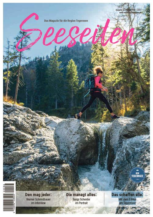 Seeseiten Tegernsee Titelseite Herbst 2020