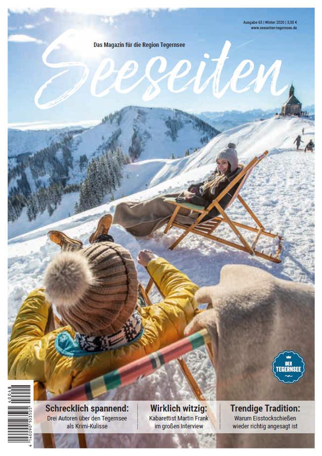 Seeseiten Tegernsee Titelseite Winter 2020