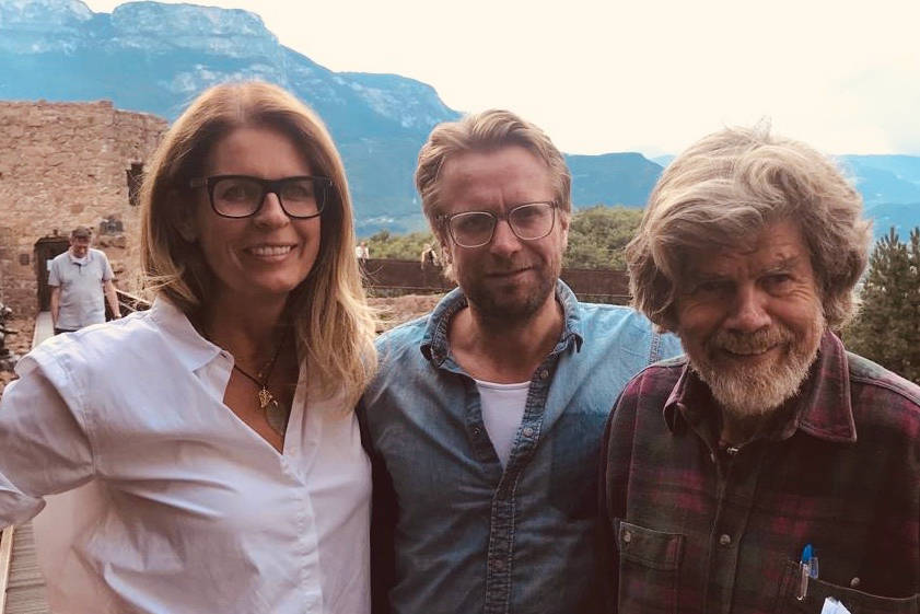 Sonja Scheider Reinhold Messner