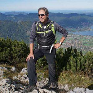 Porträt Heimatführer Rudi Hauptvogel