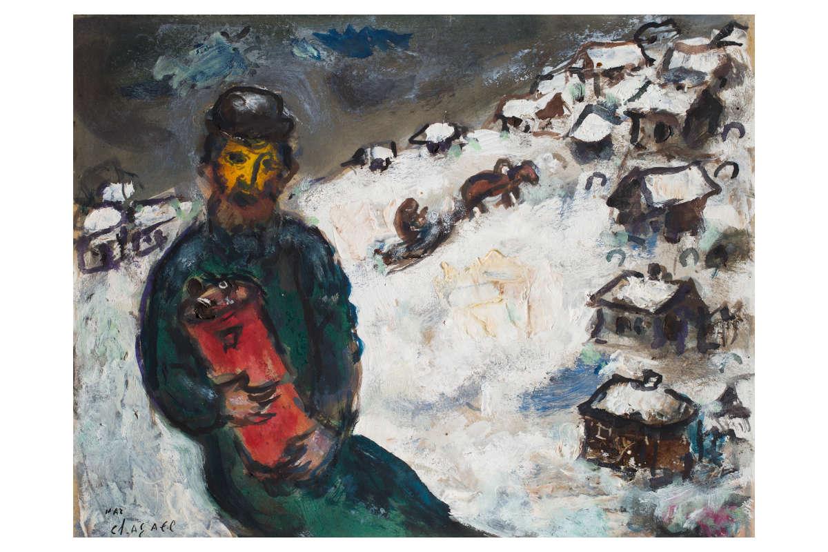Marc Chagall Rabbiner