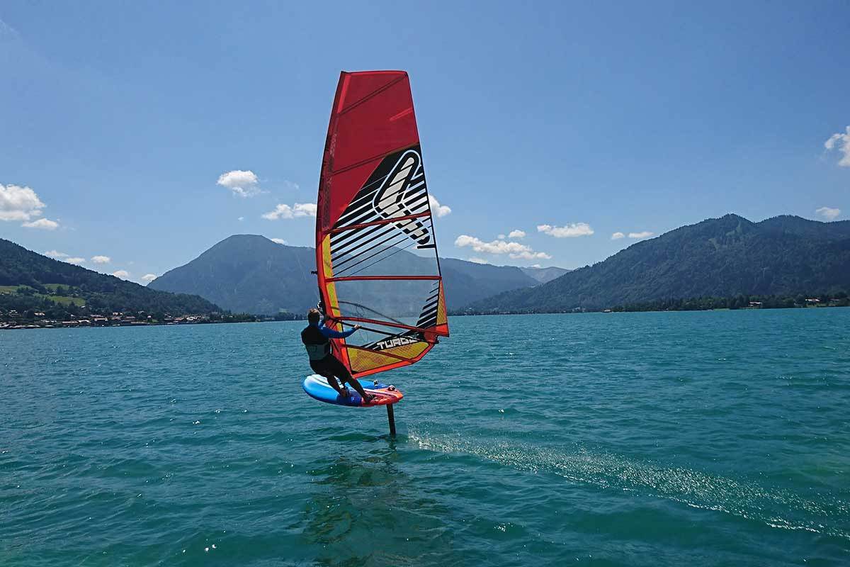 Hydrofoils Foiling Windsurfing Trend Tegernsee
