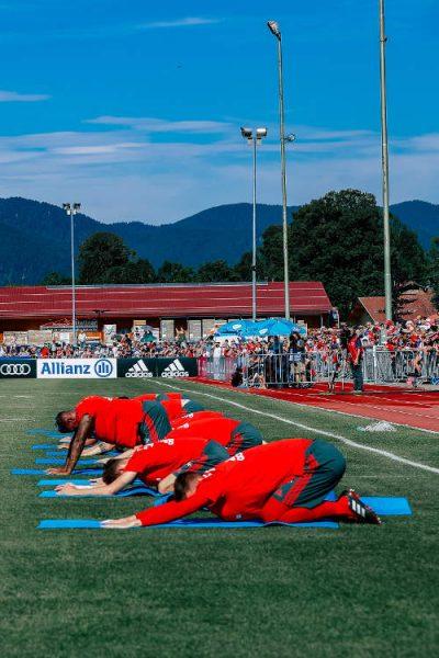 FC Bayern München Trainingslager Rottach-Egern