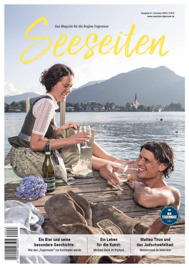 Seeseiten Ausgabe Sommer 2020 Titelseite